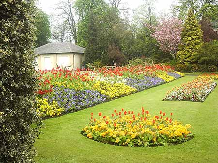 Period Gardens at Ripon, Yorkshire.