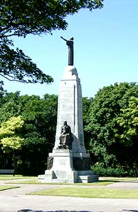 The War Memorial from St George's Road
